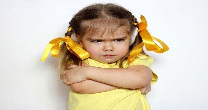 لجبازی کودک و نافرمانی کودک